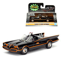 Jada 1:32 Die-Cast Batmobile Batman & Robin Figures Classic TV Series Model Coll