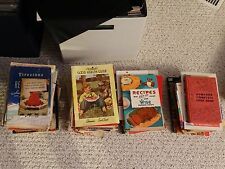 U-Pick Old Cookbooks Cook Books Early 1900's to 1970's  Pillsbury Betty Crocker