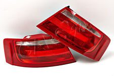 AUDI A5 Coupe Convertible 2007-2011 Outer Wing Rear Lamps Tail Lights PAIR OEM