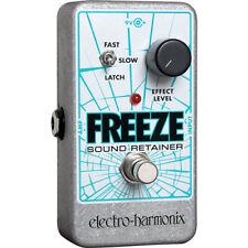 Electro-Harmonix Freeze Sound Retainer Pedal Brand New!