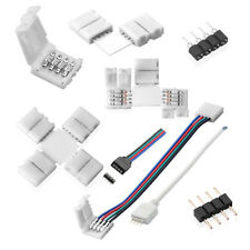 Accesorios tiras de LED RGB strip Adaptador Conector de distribución prórroga cable