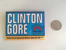 UFCW for Clinton Gore 1992 Pin Back Button