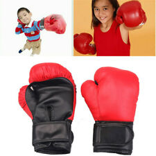 Kids Boxing Gloves Children Punching Bag Training Sparring Gloves Age 3-9
