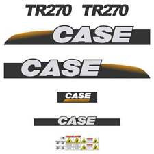 CASE TR270 Decals Stickers Skid loader Repro kit