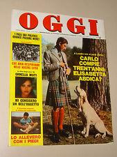 OGGI=1978/46=POMPIERI FIERA DI PRIMIERO=BRONI=ENZO JANNACCI=MODA ARMANI VERSACE