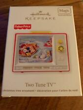 Hallmark Keepsake Ornament Fisher Price Two Tune Tv Television 2012 Magic Sound