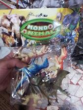 kit gioco animali piccoli dinosauri t-rex animal toy giocattolo plastica