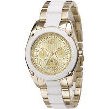 AX5035 Nuevo Genuino Armani Exchange Reloj de señoras de dos tonos RRP £ 180