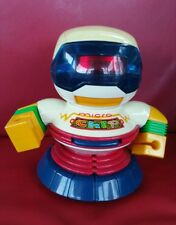 Vintage Bump n' go Robot  - Micro Chip  - by New Bright  - 1994 - space toy
