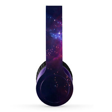Vinyl Skin Decals Stickers For Dr Dre Beats Solo HD  Purple space skins