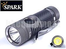 Spark SF5 HCRI Luxeon T CRI90 Carbon AA 14500 Neutral White LED Torch