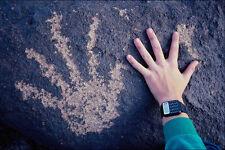 611055 prehistóricos Mano Petroglifo Foto Rocas parque estatal A4 Foto Impresión