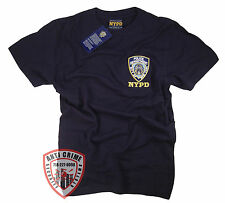 NYPD Shirt Blue T-Shirt Gear Gifts Merchandise Clothing Womens Mens Apparel