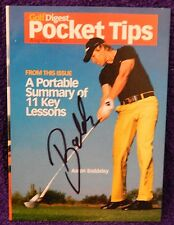"AUTOGRAPHED COLOR PHOTO >3.75"" X 5"" PRO GOLFER>AARON BADDELEY"