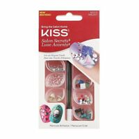 KISS Salon Secrets Luxe Accents Kit for Your Nails - Brilliance Manicure NEW