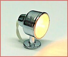 MODEL BOAT FITTING WORKING FIXED SEARCH LIGHT 6v 15mm HIGH x 10.5mm DIAM (QTY 1)