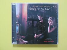 Over The Rhine Whatever You Say Promo CD Single from Films For Radio