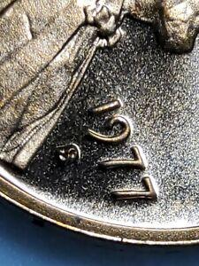 1977-S  Lincoln Cent Gem Quality error DDO