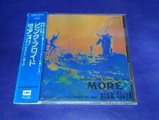 Pink Floyd Soundtrack From The Film More Japan 1st CD Obi 1988 CP32-5273