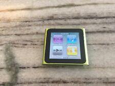 Apple MC690LL/A 8GB 6th Gen iPod Nano - Green - NEW SCREEN NEW BATTERY NICE!