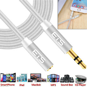 ETS 2M 3.5mm Jack Male To Female Extension AUX Audio Cable For Mobile/iPad/MP3