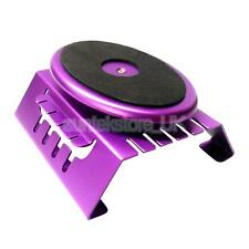 Aluminum RC 1/8 1/10 Scale Car Buggy Truck Work Station Rotate Stand Purple