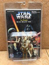 Star Wars Die Cast See Threepio Keychain PLACO item 3110  C3PO  1996 key chain