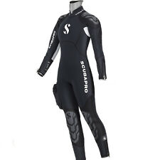LO3 06 SEMYDRY SUIT SCUBAPRO NOVASCOTIA LADY mm.7,5 AND HOOD size XS EXTRA small