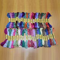 Mercerized Fabric Stitch Cotton Embroidery Thread Cross Sewing Craft Knitting