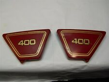 XS400 XS400D XS4002E SIDE COVER SET 1L9-21711-00-63 1L9-21721-00-63 CARMINE RED
