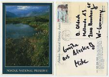 56736 - Noatak National Preserve - Ansichtskarte, gelaufen Kotzebue, AK 5.8.1989