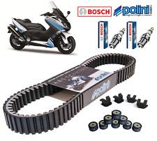 Pack Révision Courroie Galets Curseur Polini Bougie Bosch Yamaha Tmax 530 2012->