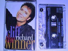 CLIFF RICHARD 'THE WINNER' CASSETTE, 1995 EMI, RARE MADE IN HOLLAND, TESTED, NEW