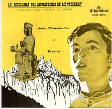 "<4279-14> 7"" : La Escolania del Monasterio de Montserrat: Salve Montserratina"