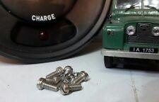 Land Rover Smiths British Jäger Instrument Gauge Fixing Satz Schrauben &