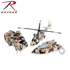 572 Rothco Super Warrior Desert Camouflage Vehicle Play Set
