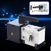 4P 100A ATS Dual Power Automatic Transfer Switch For Generator Changeover Switch