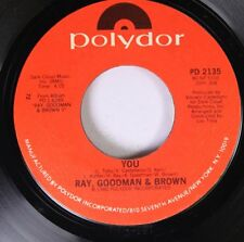 Northern Soul Unplayed 45 Ray, Goodman & Brown - You / Happy Anniversary On Poly
