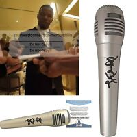 Jamie Foxx Autograph Signed Microphone Exact Proof Beckett BAS Cert Mic Comedian