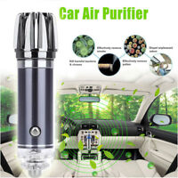 New Air Purifier Air Freshener 12V Auto Car Fresh Air Ionic Purifier Oxygen