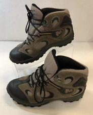 Merrell Chameleon Mid Kids Waterproof Hiking Shoes Boots Kangaroo Boa Grey Sz 5