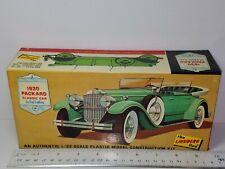 Lindberg 1930 Packard Classic Car Unsealed Model Kit