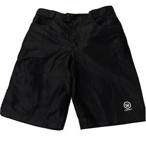 Canari Mens Black Baggy Cycling Hiking Shorts Activewear - Size Large J2E