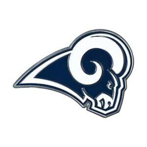 Fanmats NFL Los Angeles Rams Diecast 3D Color Emblem Car Truck RV 2-4 Day Del.
