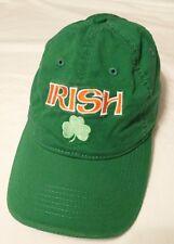 IRISH GREEN HAT Clover Leaf Baseball Cap Pacific Headwear VINTAGE Collection