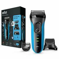 Braun 3010BT Series 3 Shave & Style Mens Shaver Wet & Dry Rechargeable