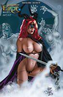 TAROT TPB #10 NUDE-VARIANT deutsch JIM BALENT(Catwoman) lim.222 Ex. COMIC-ACTION