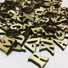 100 pcs Rustic Wooden Wood Letters Wedding Party Table Scatter Decoration Crafts