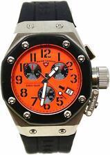 Swiss Legend 10541-06-BB Trimix Diver Homme Montre Chronographe Orange Noir Neuf