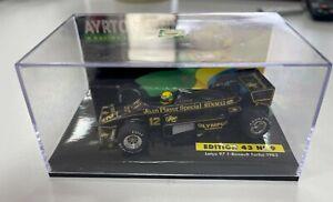 Ayrton Senna Lang John Player Special Lotus 97 T-Renault Turbo 1985 F1 1:43